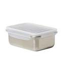 Kitchen Pro Boston Stainless Steel Food Storage Container 1.8L