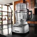 KitchenAid Artisan Exactslice KFP1333 Food Processor Contour Silver