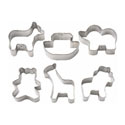 Wilton Noah's Ark Mini Metal Cookie Cutters