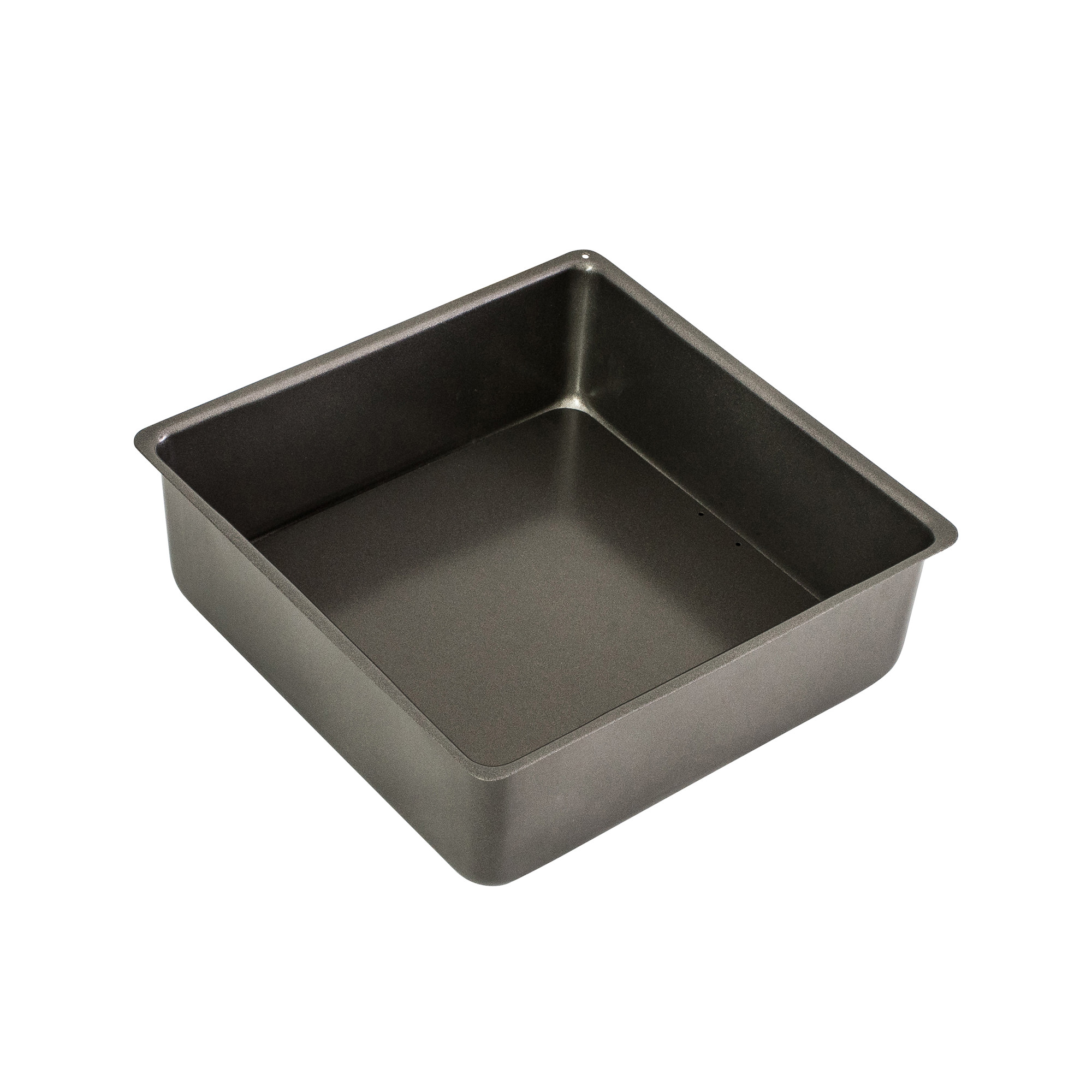 Bakemaster Non Stick Loose Base Square Deep Cake Pan 20x7cm