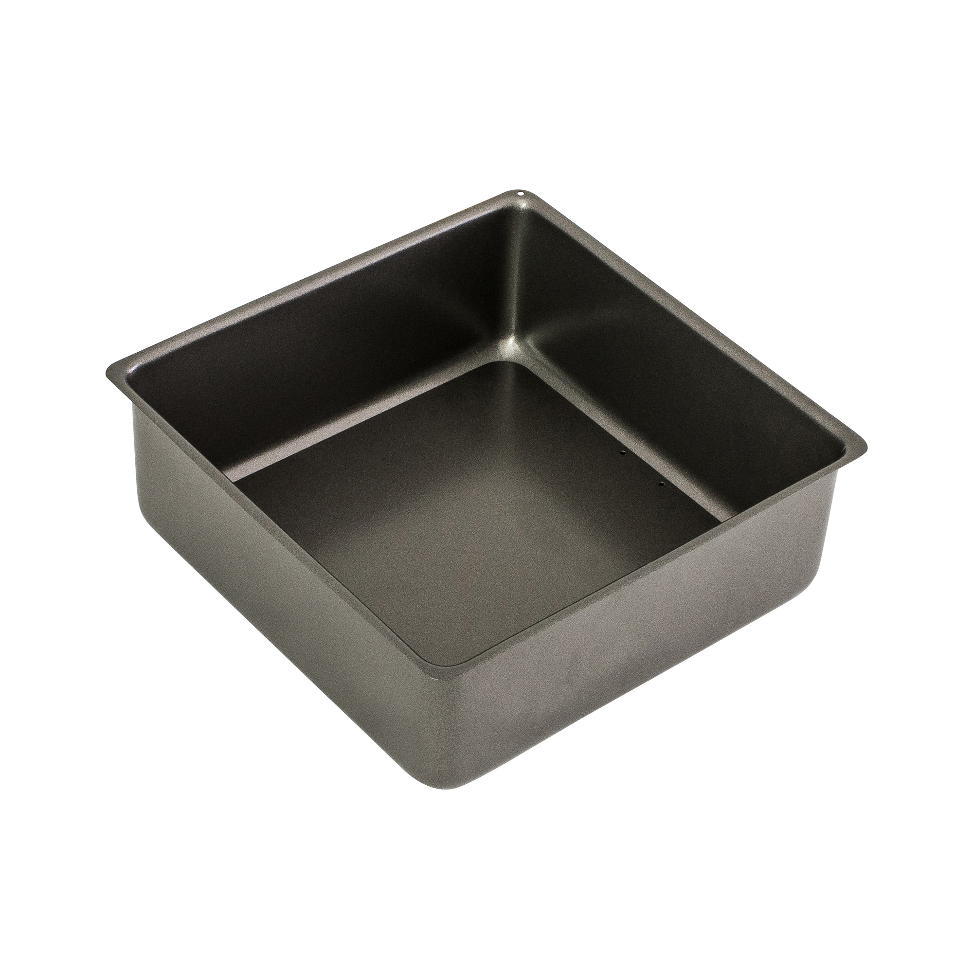 Bakemaster Non Stick Loose Base Square Deep Cake Pan 23x7cm