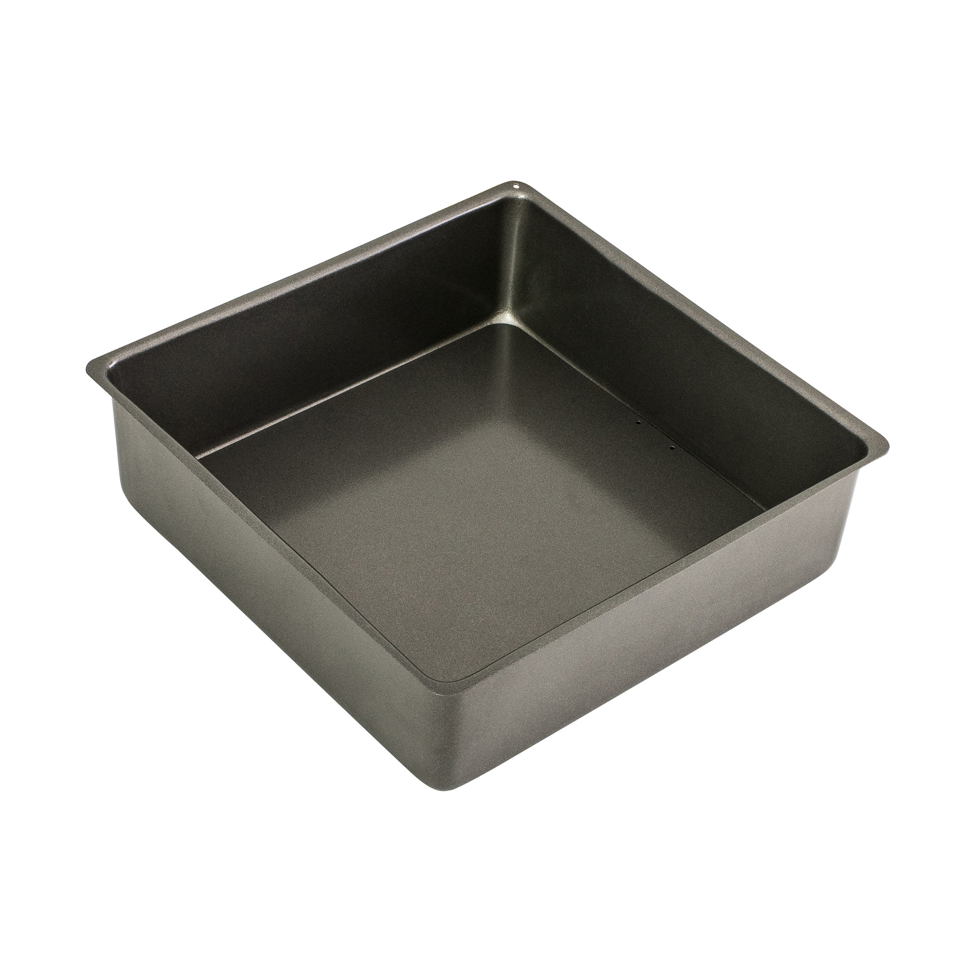 Bakemaster Non Stick Loose Base Square Deep Cake Pan 25x8cm