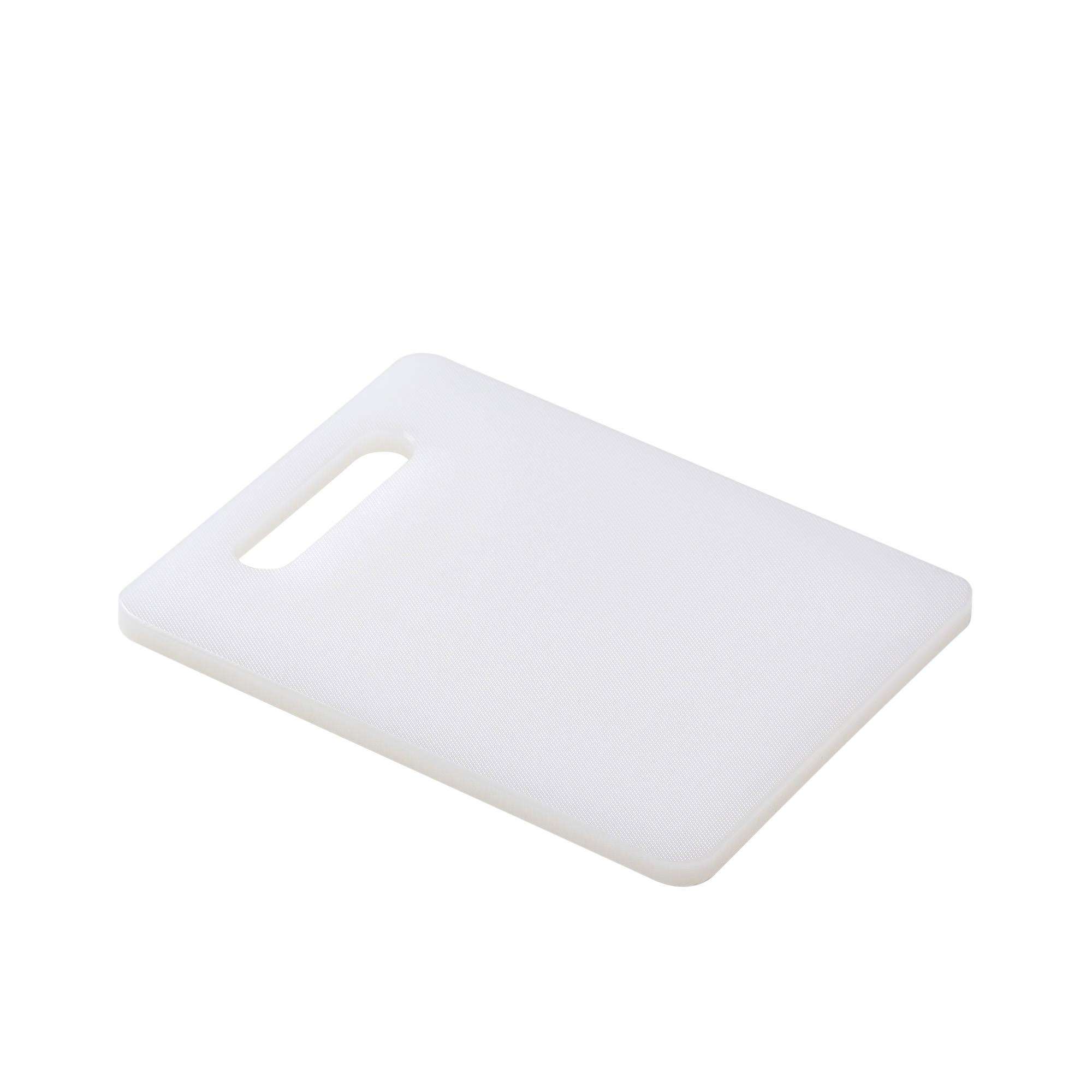 Kitchen Pro Classic Cutting Board 25x20x1.2cm White