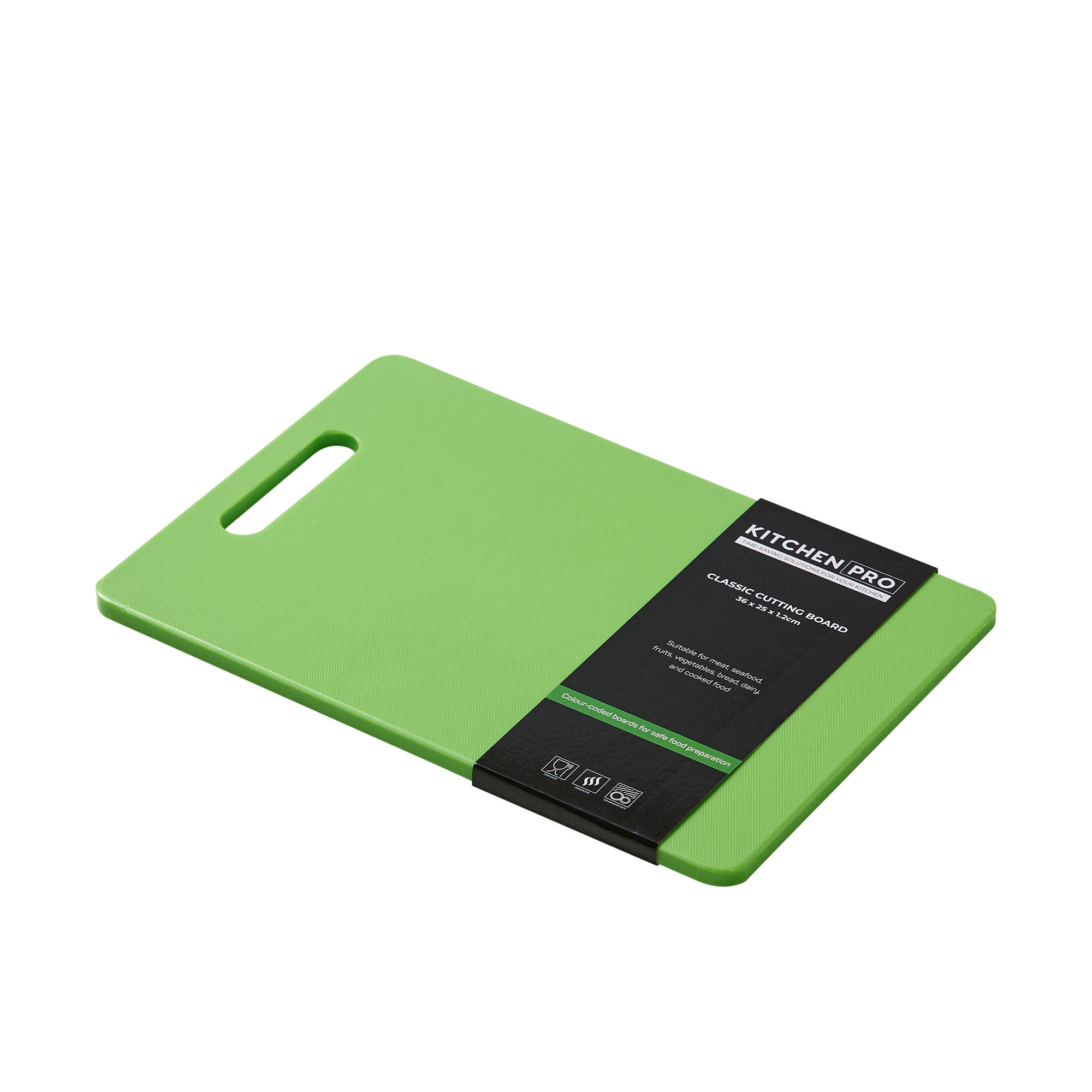 Kitchen Pro Classic Cutting Board 36x25x1.2cm Green image #2
