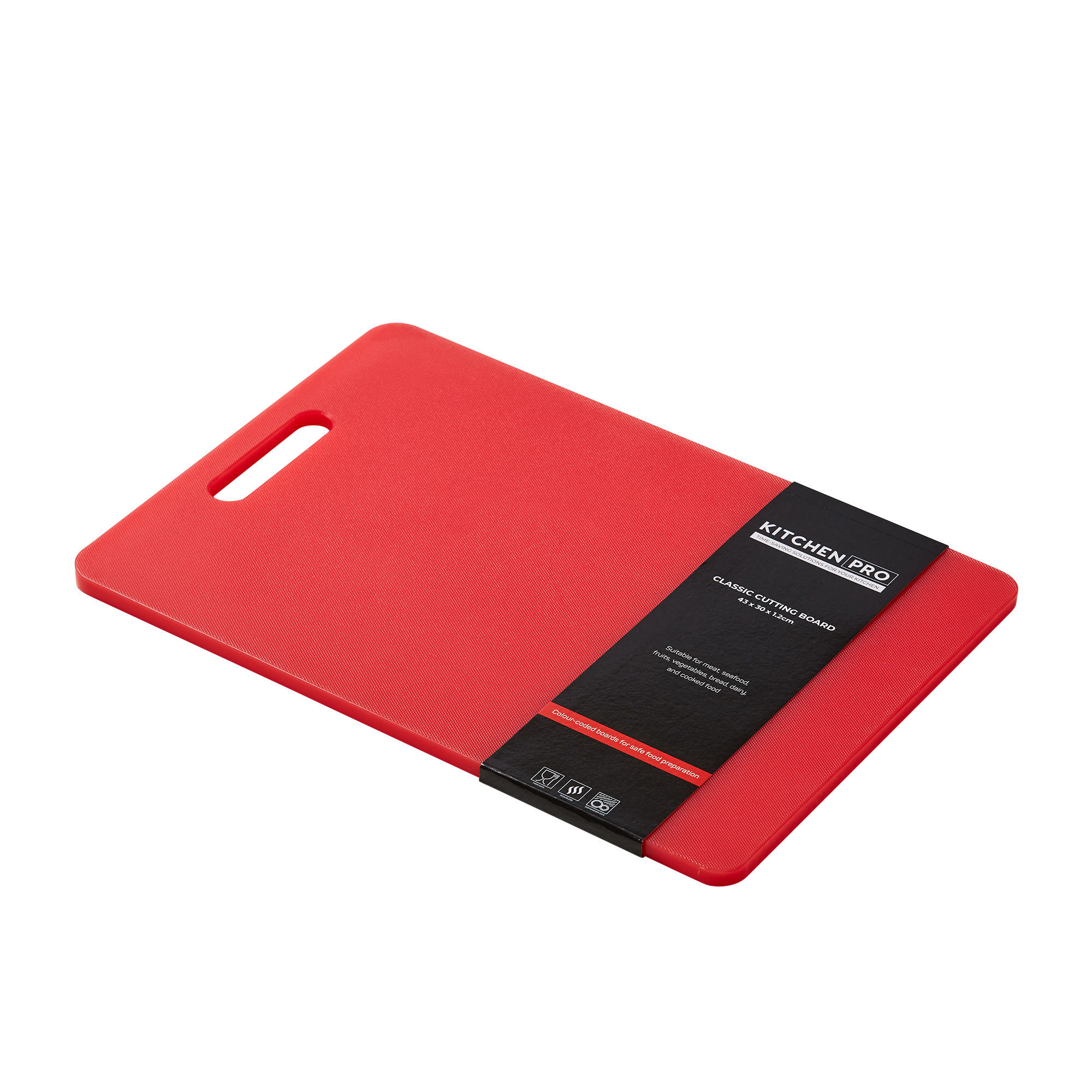 Kitchen Pro Classic Cutting Board 36x25x1.2cm Red image #2