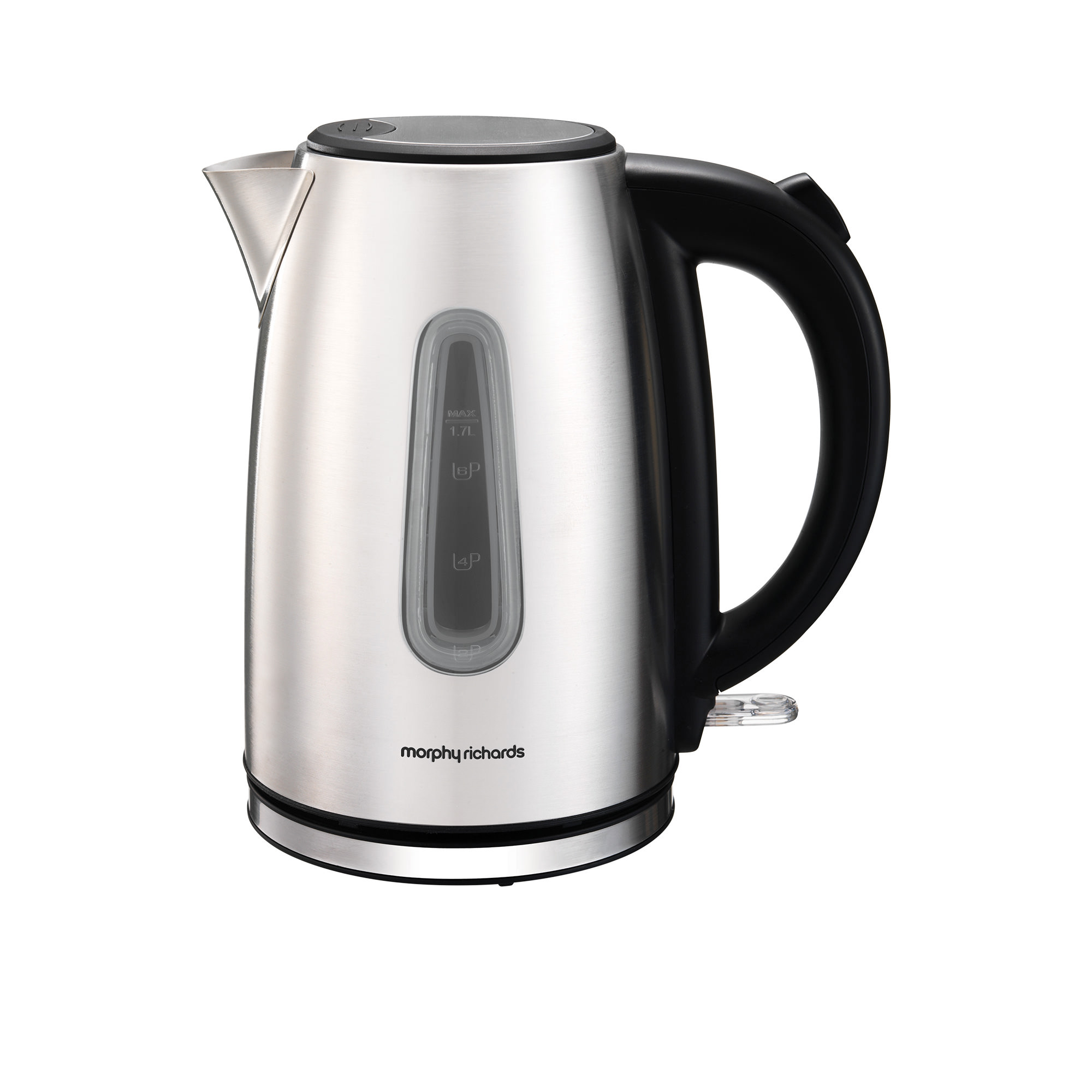 Morphy Richards Equip Jug Kettle 1.7L Stainless Steel
