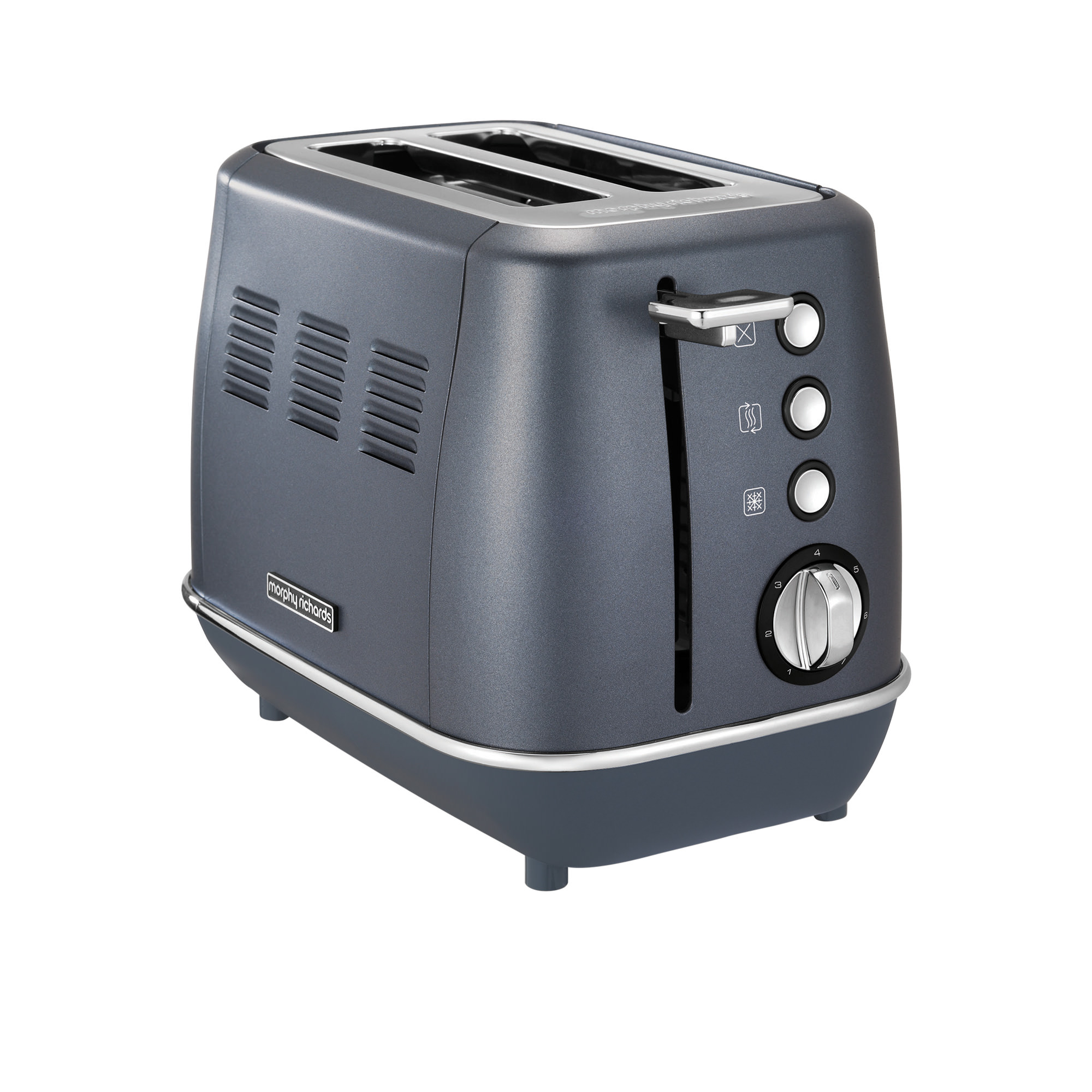 Morphy Richards Evoke Special Edition 2 Slice Toaster Blue Steel