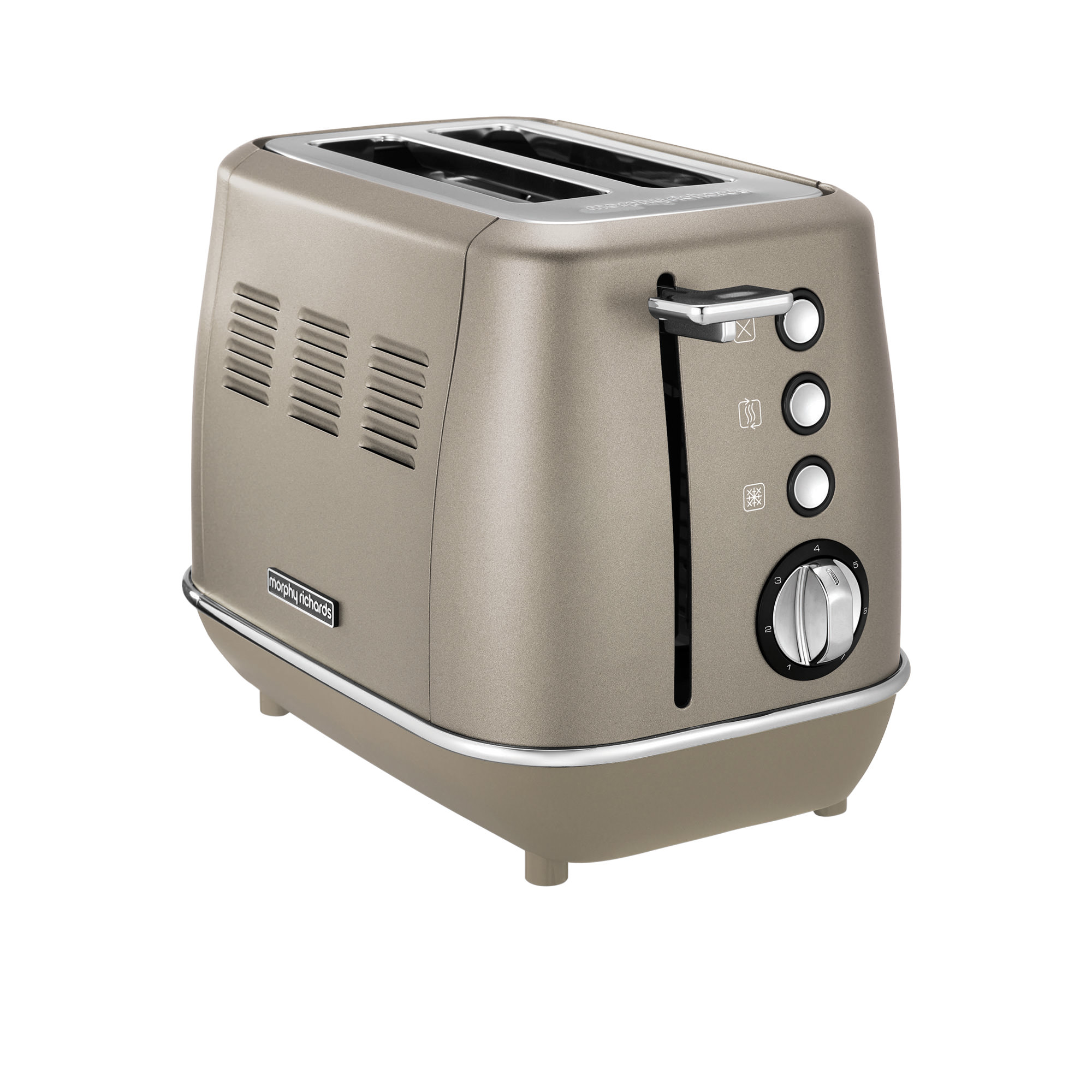 Morphy Richards Evoke Special Edition 2 Slice Toaster Platinum