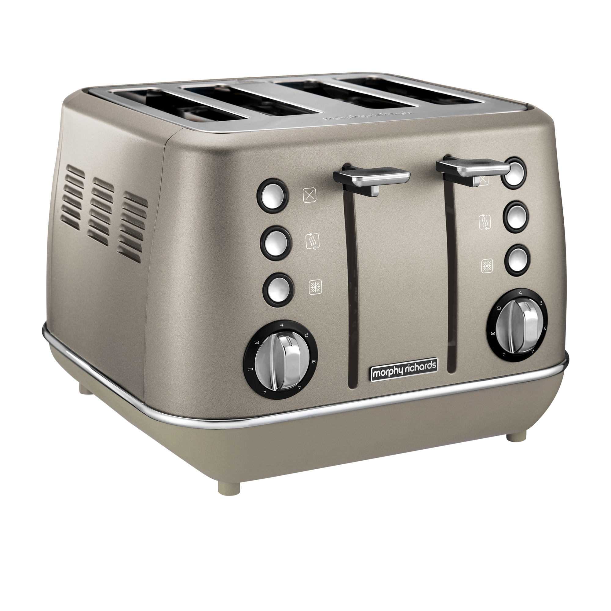 Morphy Richards Evoke Special Edition 4 Slice Toaster Platinum