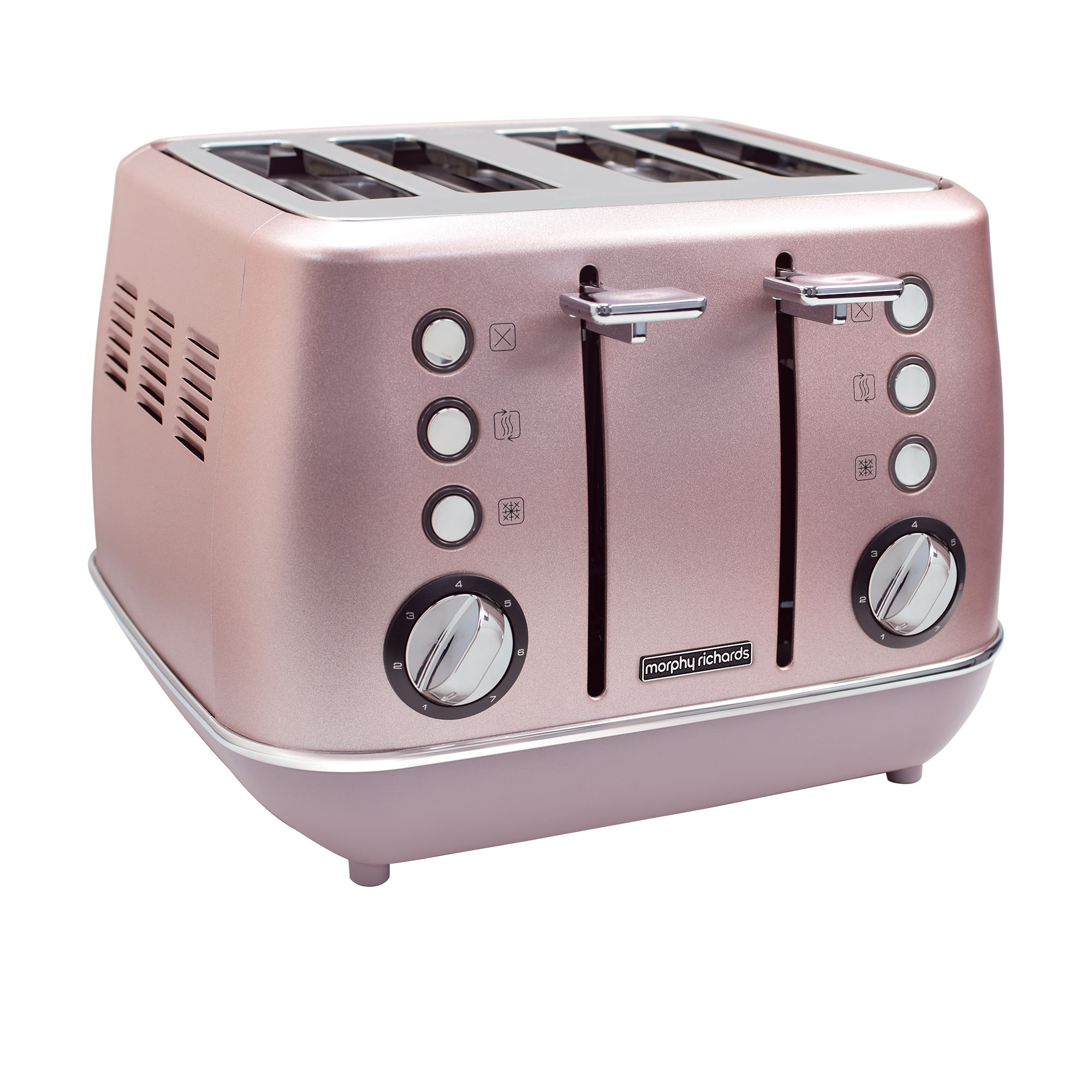 Morphy Richards Evoke Special Edition 4 Slice Toaster Rose Quartz