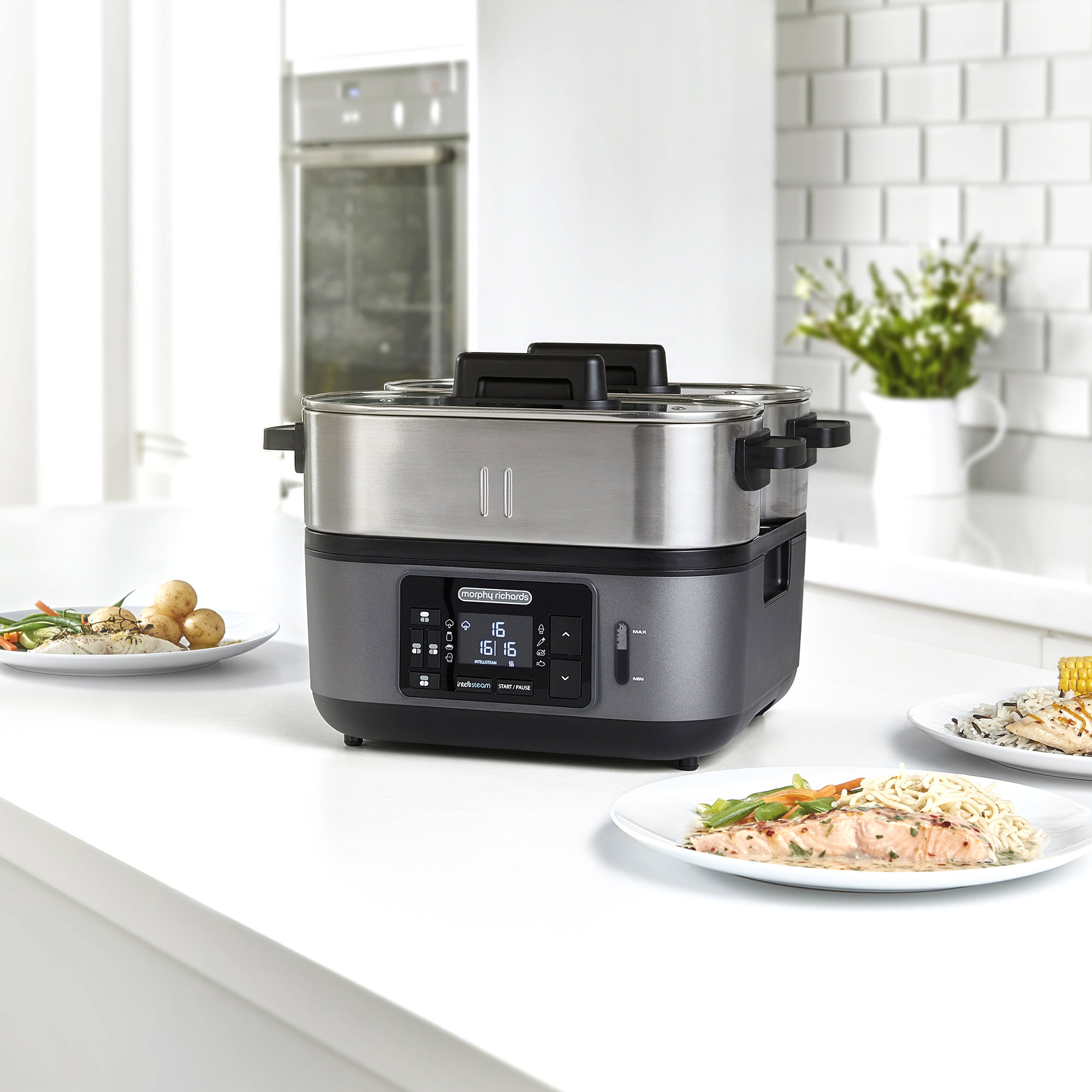 Morphy Richards Intellisteam Electric Food Steamer image #3
