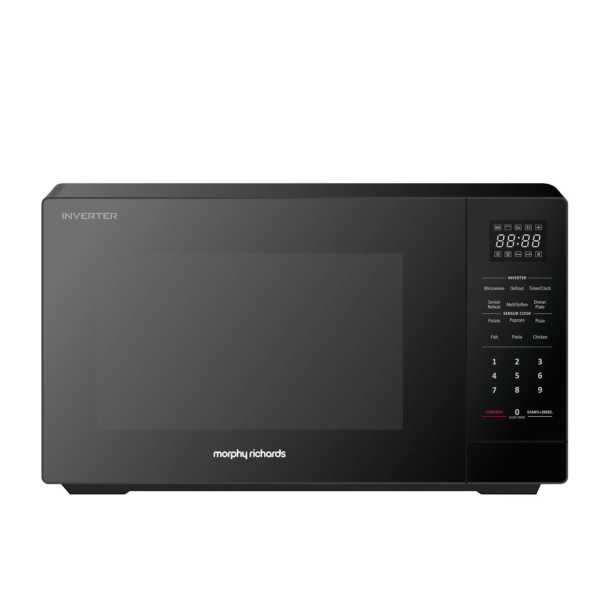 Morphy Richards Inverter Microwave Oven 34L Black
