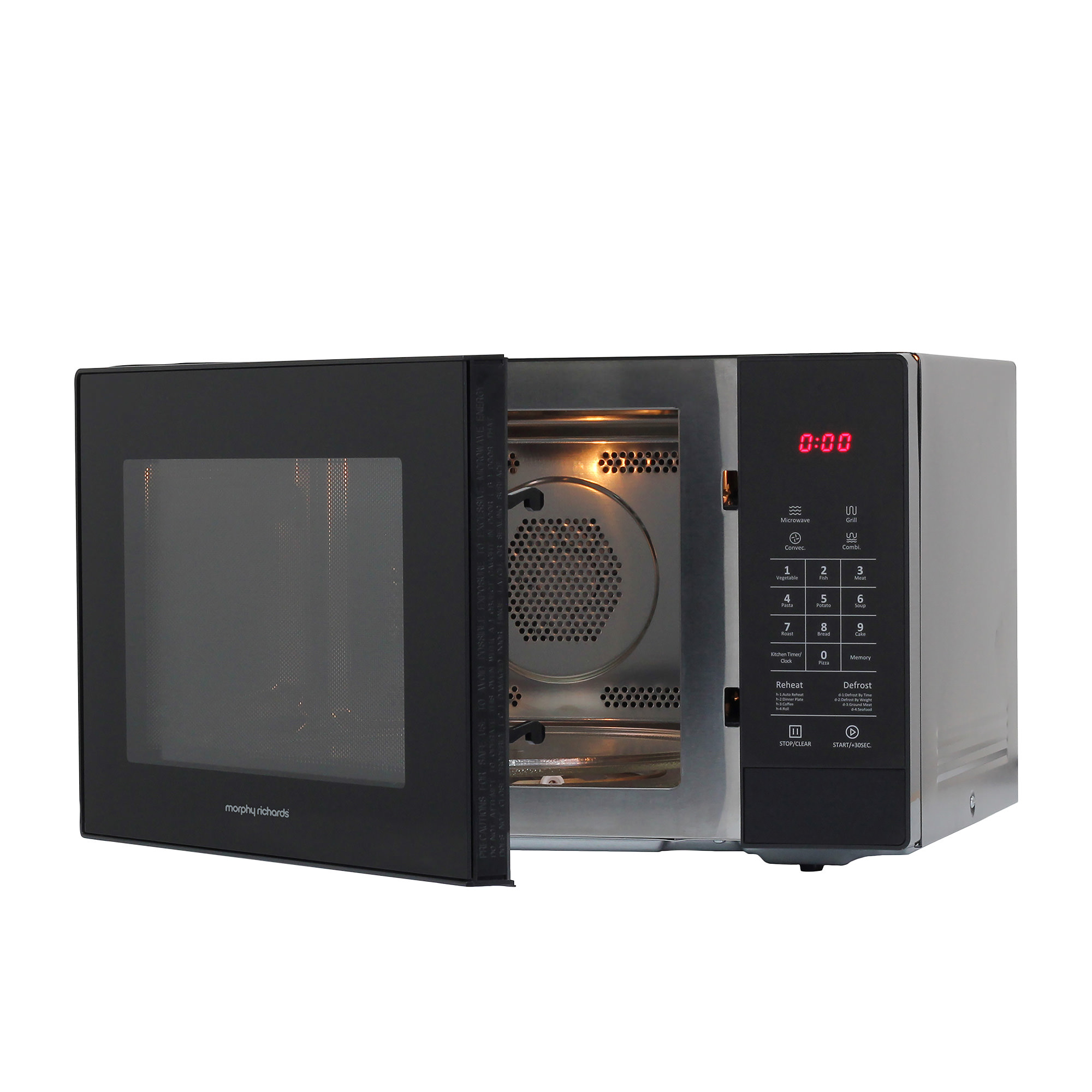 Morphy Richards Microwave Oven 34L w/ Grill and Convection image #3