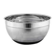 Stainless Steel Mixing Bowl w Silicone Bottom 26cm