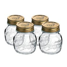 Quattro Stagioni Storage Jars 250ml 4pc Set