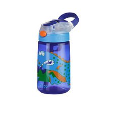 Gizmo Autospout Drink Bottle 420ml Dinosaur