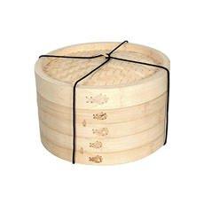 Bamboo Steamer 2 Tier 20cm