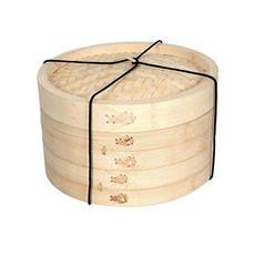 Bamboo Steamer 2 Tier 26cm