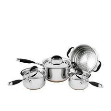Australis 4pc Set w/ Saucepans & Steamer