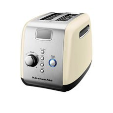 Artisan 2 Slice Toaster Almond Cream- New