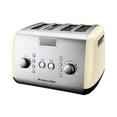 Artisan 4 Slice Toaster Almond Cream