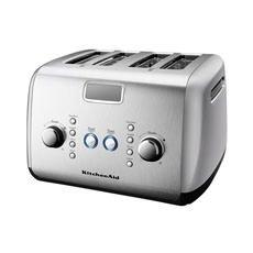 Artisan 4 Slice Toaster Contour Silver