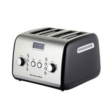 KitchenAid <b>Artisan</b> 4 Slice Toaster Onyx Black