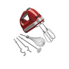 KitchenAid <b>Artisan</b> 9 Speed Hand Mixer Empire Red