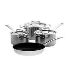 3-Ply Stainless Steel 4pc Cookware Set