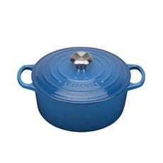 Signature Round Casserole 24cm - 4.2L Marseille Blue