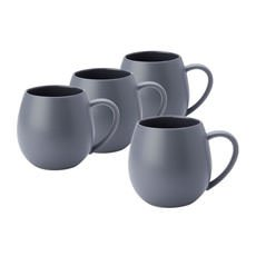 Hug Me Mug 400ml Set of 4 Grey