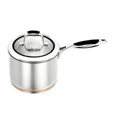 Coppernox Covered Saucepan 2.5L