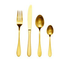 Tablekraft Soho <b>Cutlery</b> Set 16pc Gold