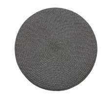 Storm Placemat 35cm Charcoal