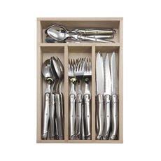 Laguiole Debutant Cutlery Set Mirror 24pc S/S