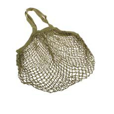Cotton String Bag Long Handle Avocado