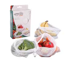 Woven Net Produce Bags 3pc