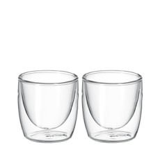 Cafe Twin Wall Glass 100ml Set of 2