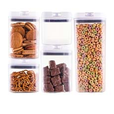 Avanti Flip Top Storage <b>Container</b> Set of 5