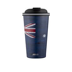 Avanti Go <b>Cup Double Wall</b> Insulated <b>Cup</b> 410ml Aussie Flag