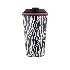 Avanti Go <b>Cup Double Wall</b> Insulated <b>Cup</b> 410ml Zebra