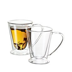 Hero Twin Wall Glass 250ml Set of 2
