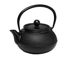Hobnail Cast Iron Teapot Black 600ml