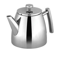 <b>Avanti</b> Modena Stainless Steel Double Wall Teapot 1.2L