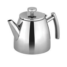 Modena Stainless Steel Double Wall Teapot 600ml