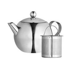 <b>Avanti</b> Nouveau Stainless Steel Teapot 500ml