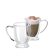 Oko Twin Wall Glass 250ml Set of 2