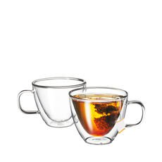 Sienna Twin Wall Glass 250ml Set of 2