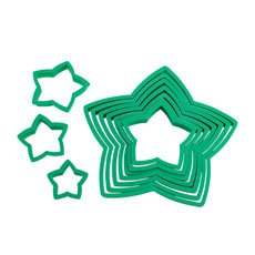 Avanti Star Christmas Tree <b>Cookie</b> Cutter Set 10pc