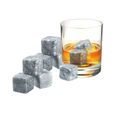 Whiskey Rocks Set of 9